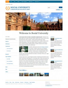 Academia free WordPress theme