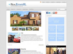 real estate free wordpress theme