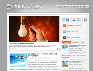 yourbusiness Free WordPress Business Theme